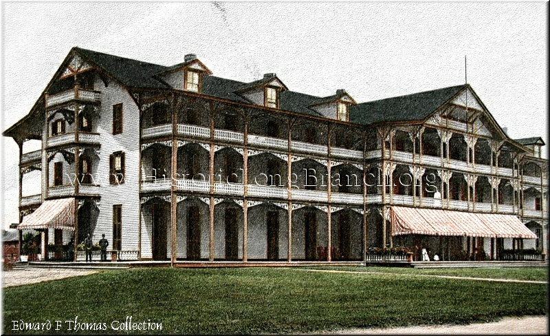 Historic Views of Long Branch - Hotels