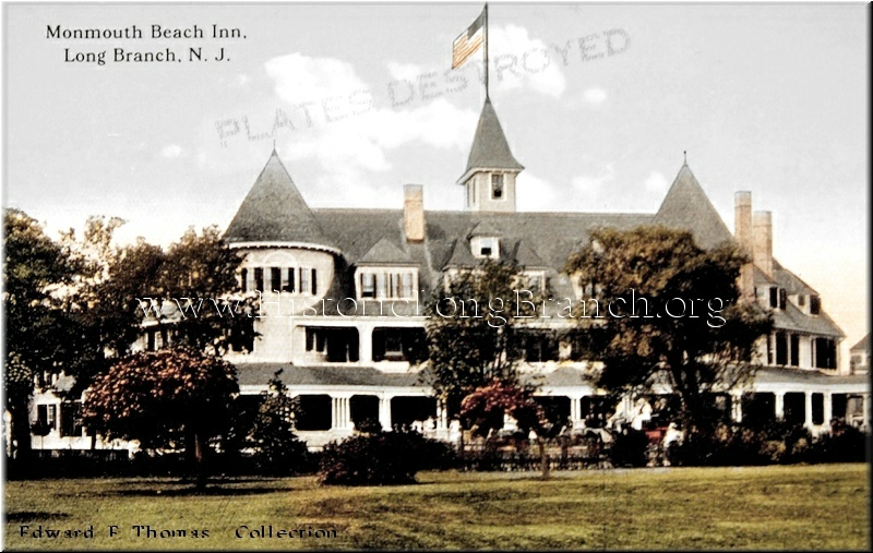 Monmouth Beach Nj Music Credit The New Rag Scott Joplin Composer Historic Views Of Long Branch Hotels