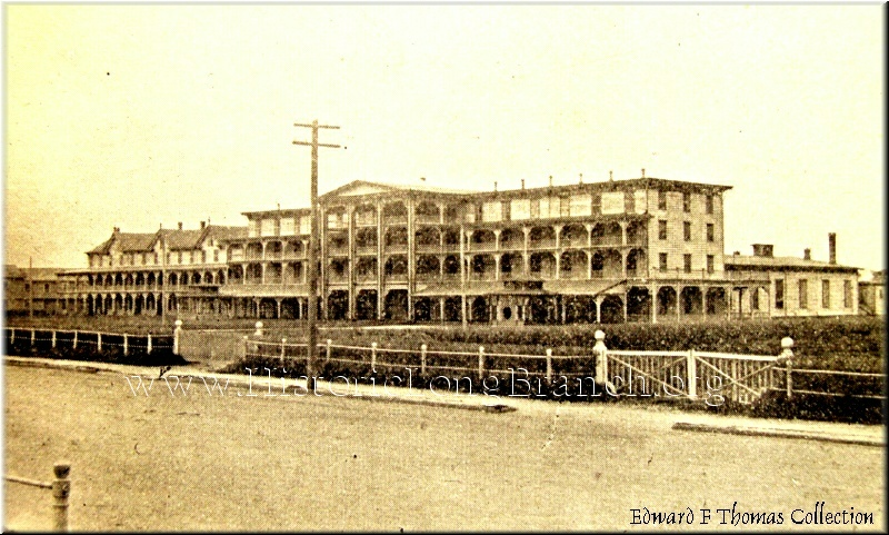 This Is A Very Old Image Of The Ocean Hotel Located Where Place Conference Center Today